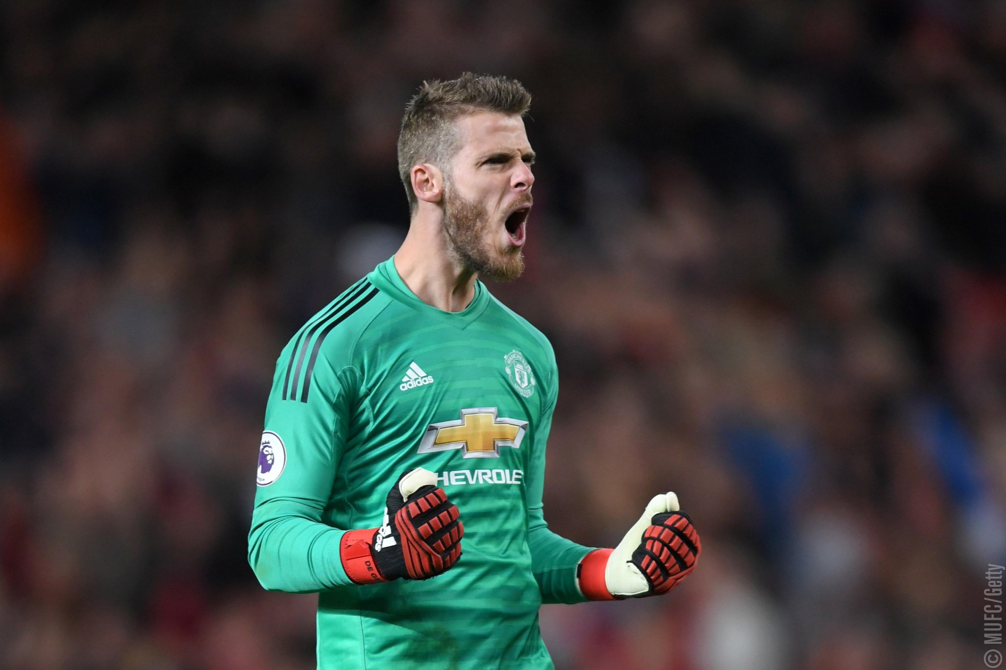'He likes it here, and we love him.' ♥️  Jose on @D_DeGea: https://t.co/Q9D6NPp4W0 https://t.co/wkkDrFaAru
