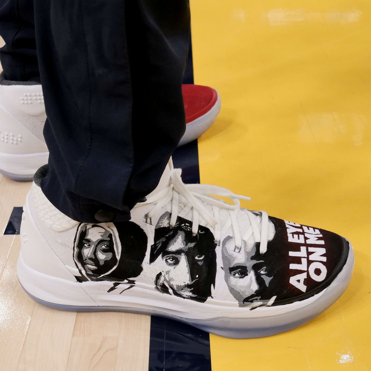 sports shoes 0a8d4 b30e2 showing some real california love with these 2pac inspired custom nike kobe  ad mids by ron