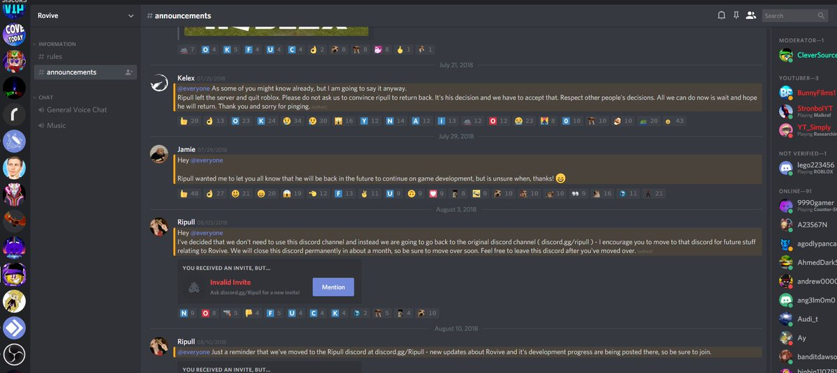 Vip Yg On Twitter So This Roblox Dev Had A Discord And They