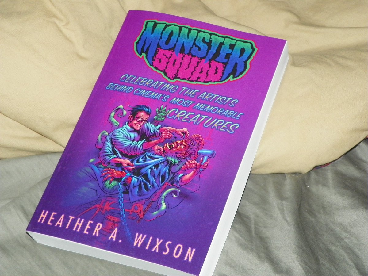 Got An Early Birthday Present From My Sister Heather Wixons Book Monster