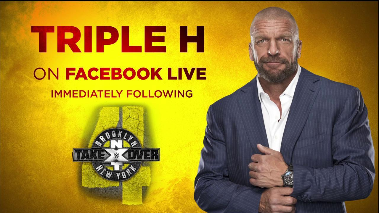 Head to https://t.co/mUMXOWfCak immediately after #NXTTakeOver: Brooklyn IV to hear what @TripleH has to say! https://t.co/qcWY6Qa7kI