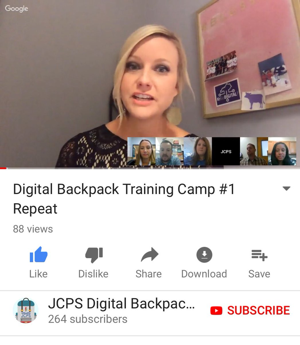 Great video by @heatherwarrell and her team about using our #JCPSBackpack #kygodigital