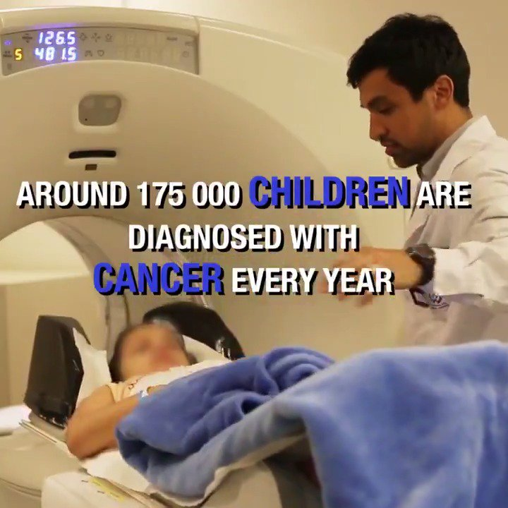 Children 👦👧🏾 need special handling when getting #cancer treatment. They are more sensitive to radiation than adults and special steps are needed to ease their anxiety and stress.