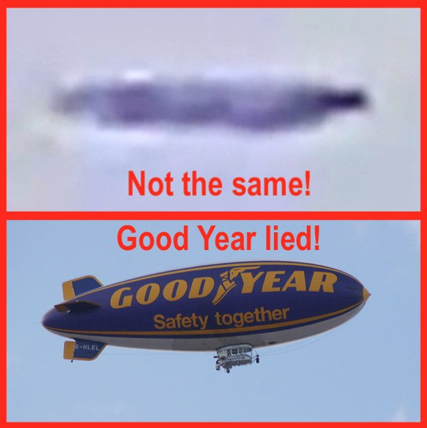 Good Year Lies About Blimp Location To Get Free Publicity And In Process Destroys UFO Evidence! Dk7gV7wU4AAu5HI