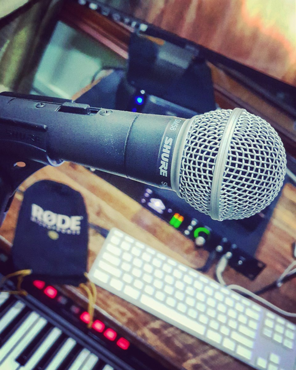 microphones hashtag on Twitter