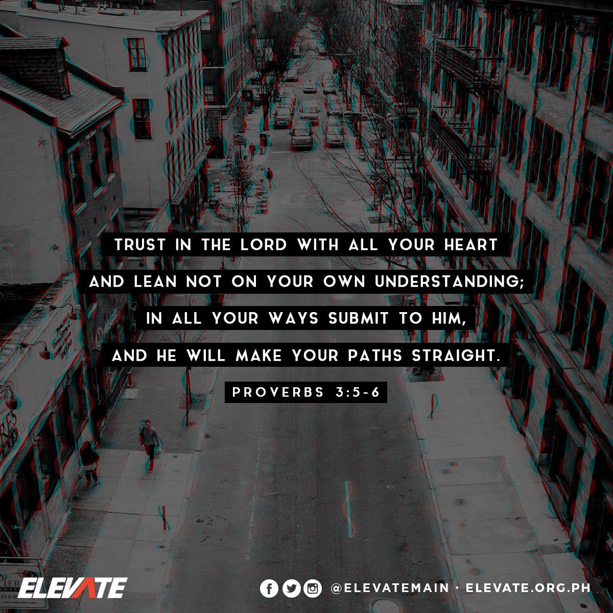 Remember, trusting God always works! #ElevateMain #ElevateSamson