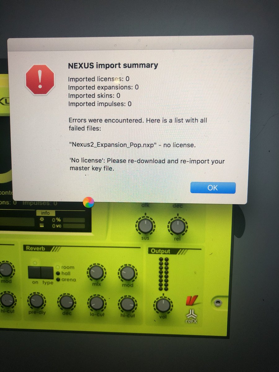 Has any of my FL/Nexus users every dealt with this ?