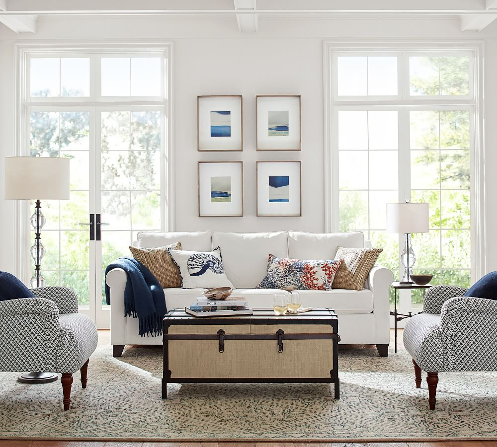 Peachy Pottery Barn On Twitter From A Chic Living Room To A Chic Home Interior And Landscaping Palasignezvosmurscom