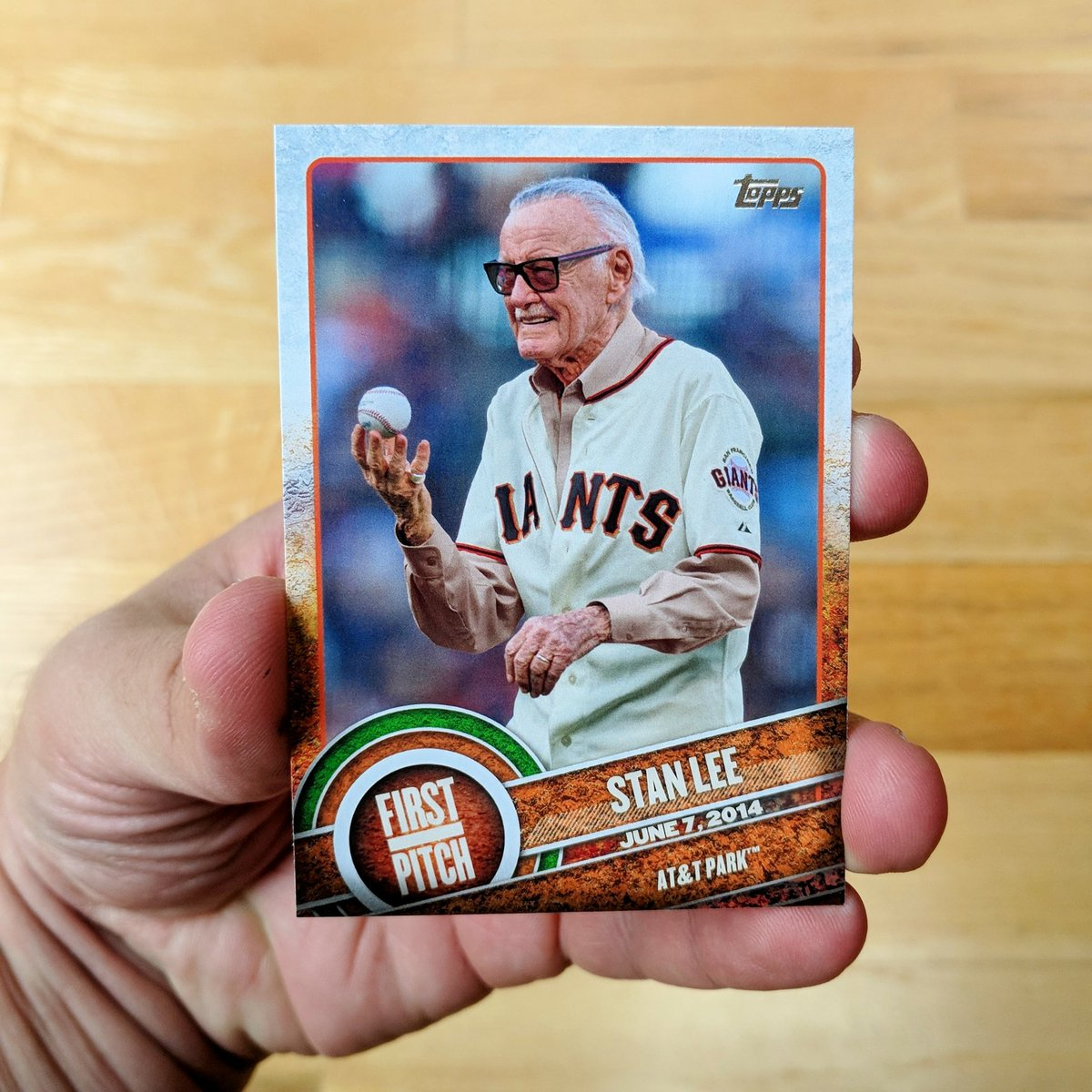 Jason Polan On Twitter I Found A Stan Lee Baseball Card Today For