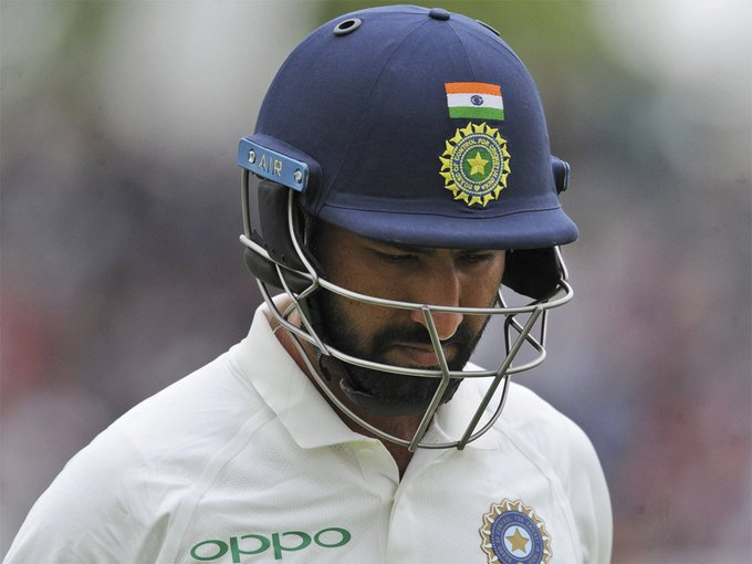 #INDvENG #ENGvIND 3rd Test: Cheteshwar Pujara loses plot in quest to raise tempo READ: Photo