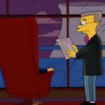"""Image for the Tweet beginning: """"That Simpson boy is looking"""