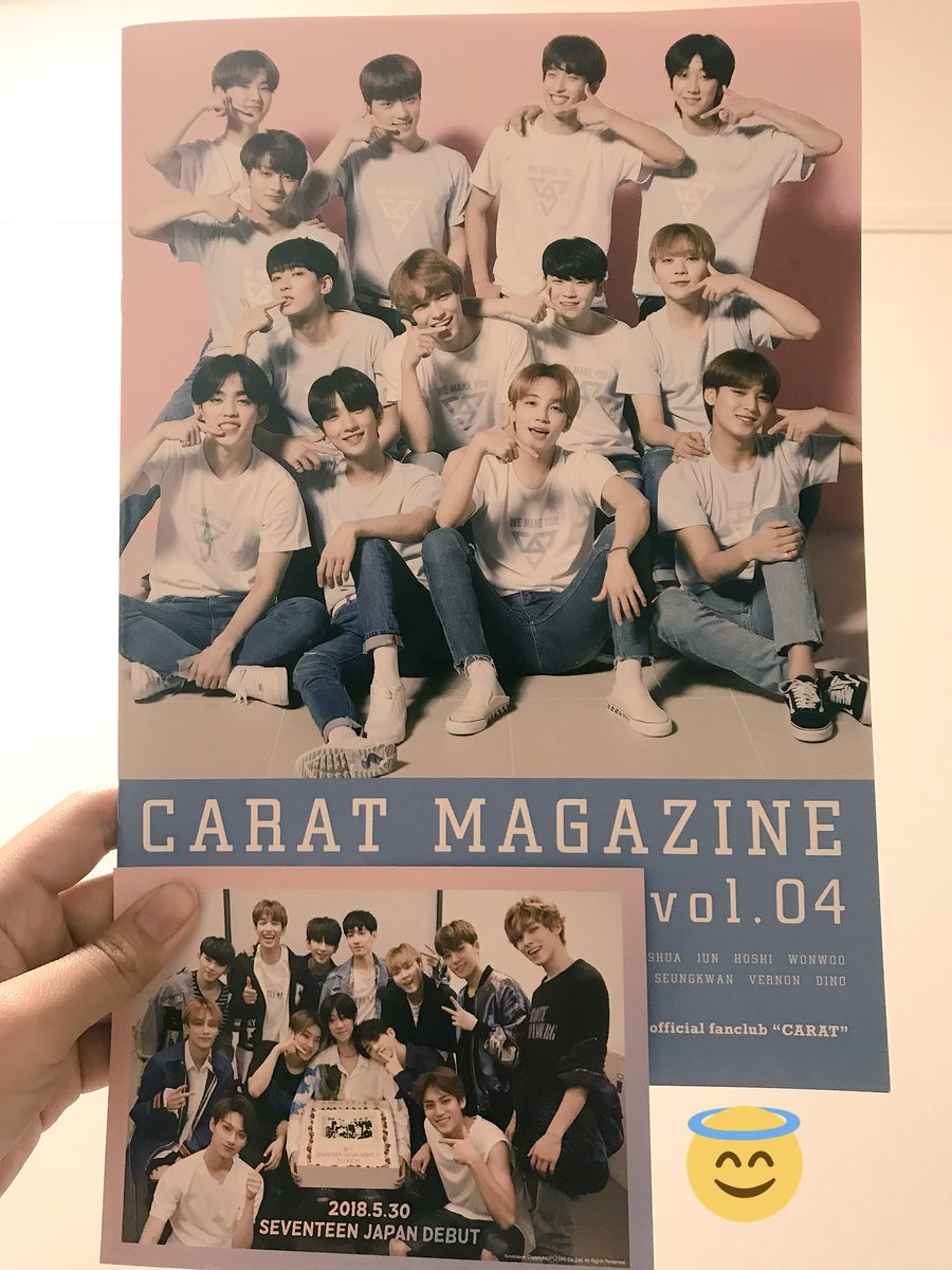 [GIVEAWAY]   Carat Magazine vol. 04 (Japan fanclub magazine), Carat Camp Hand mirror, WE MAKE YOU normal ver (3) Shipping fee is on me.  How? Just RT this tweet. Until 26th September. 5 winners will be selected by generator! Good luck! #OdongGyuGiveaway<br>http://pic.twitter.com/VrM15PfVrL