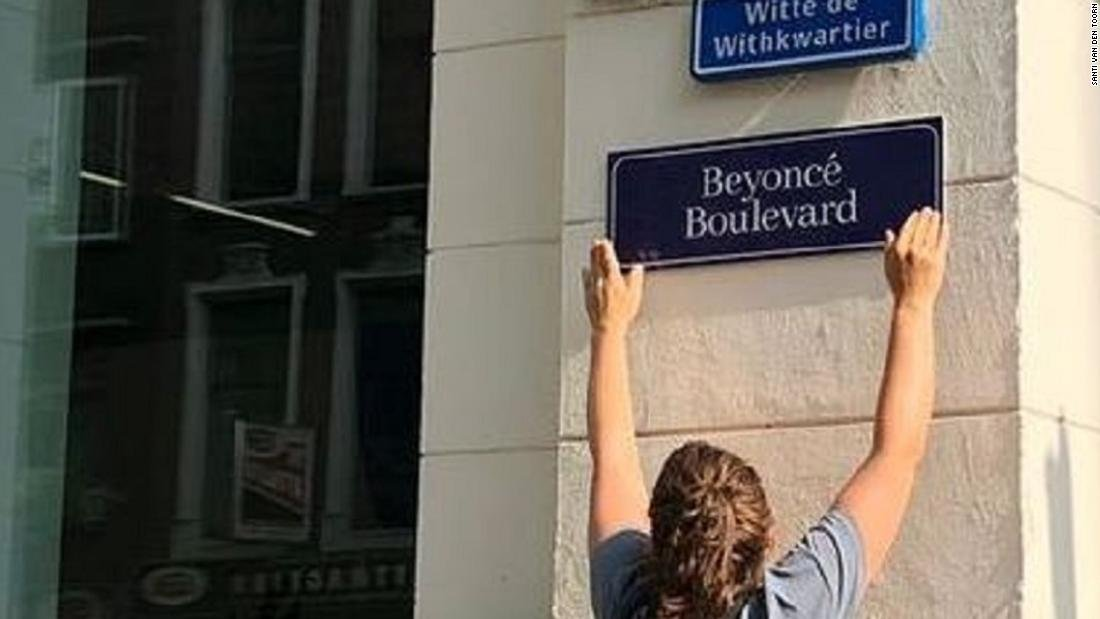 Activists are renaming streets in the Netherlands after famous women. Welcome to Beyoncé Blvd. cnn.it/2BrleTu