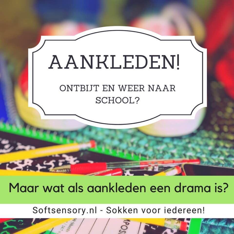 cdc25f073390d6 Bestel dan snel deze heerlijk zachte naadloze kindersokken op  https   www.softsensory.nl Voor een goede start van het schooljaar.