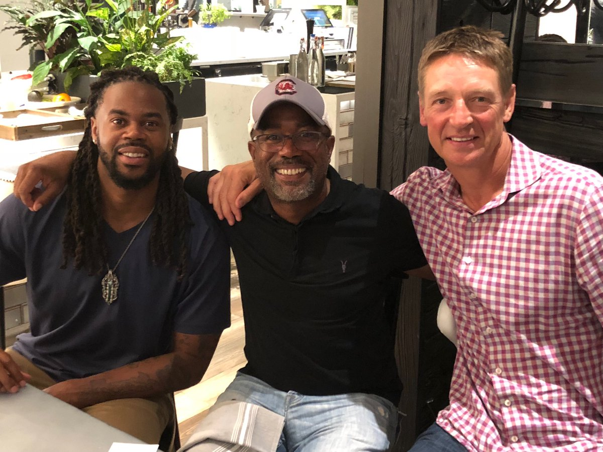 Darius Rucker On Twitter In Washington With Seattle Sports Royalty