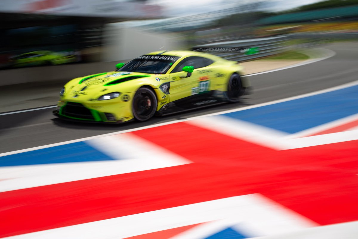Good luck today to @AMR_Official…