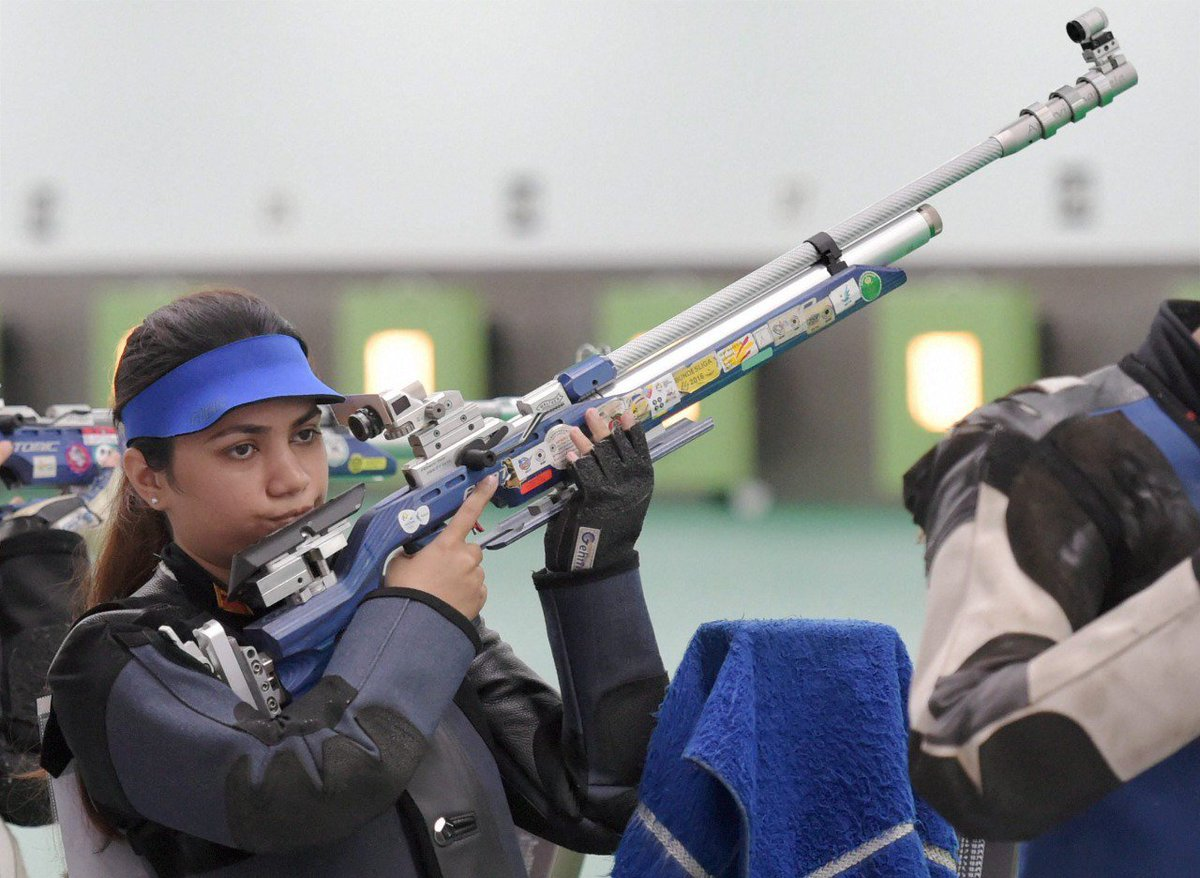 Our talented shooters give us our first medals at the @asiangames2018. Well done @apurvichandela and Ravi Kumar for bagging the Bronze medal in the 10m Air rifle mixed team event. #AsianGames2018