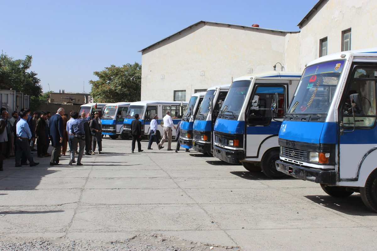 First Lot Of Mili Buses Which Were Refurbished Under The MoU Are Now Ready For Public Service In Kabul IndiaAfghanistanpictwitter HW8doXzdfJ