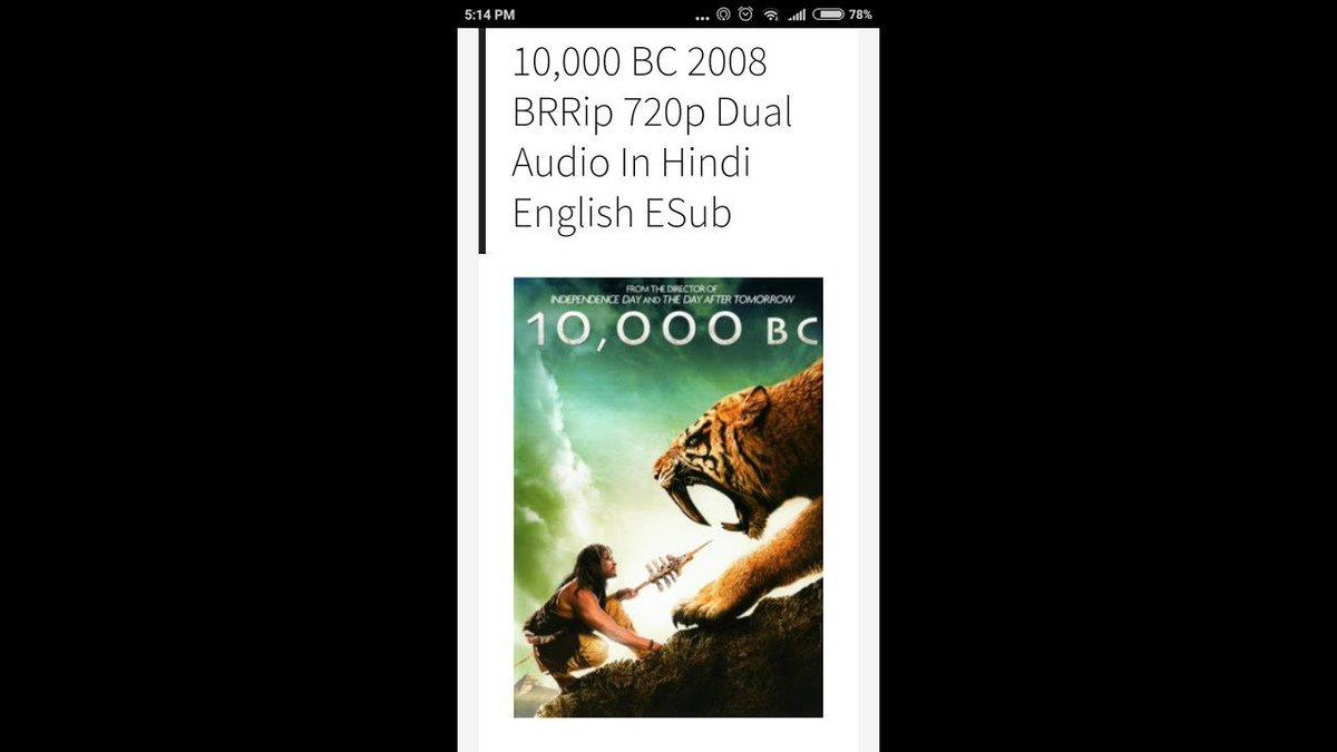 10000 bc movie download in hindi 720p bluray   10,000 BC