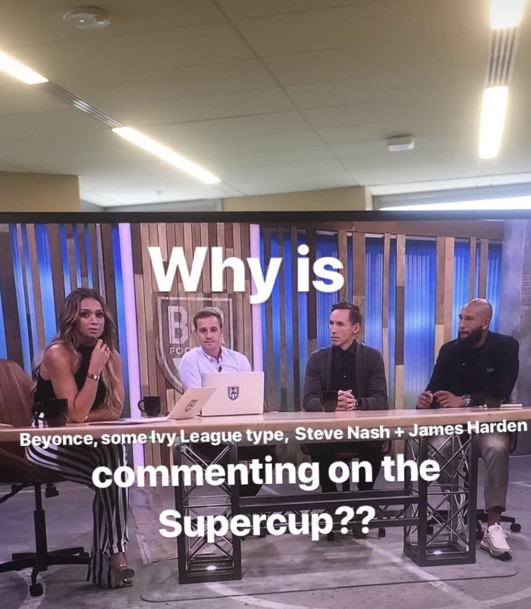 Confusion for the non-American viewers @kate_abdo @FOXSoccer #SuperCopa #RMSuperCup