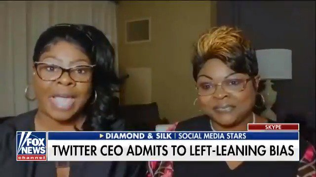 .@DiamondandSilk to Twitter: Stop being biased, remove the algorithm, and make your platform balanced https://t.co/pp4ppoLxsa
