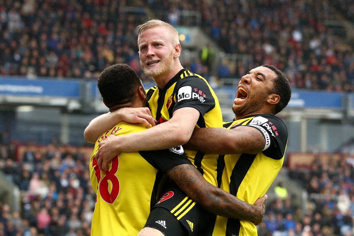 3 - Three different English players have scored in a league match for Watford for the first time since December 31st 2011 (vs Doncaster Rovers). Trio.