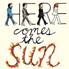 Greeting the sunrise with this song. #ThePepperEffect #HereComesTheSun