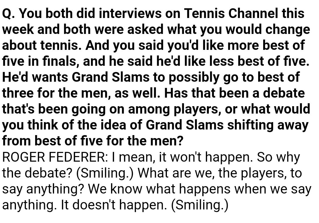 .@BenRothenberg asked this question full of hope. #Federer &#39;s answer left him in despair  #CincyTennis<br>http://pic.twitter.com/dpemSBiIE2