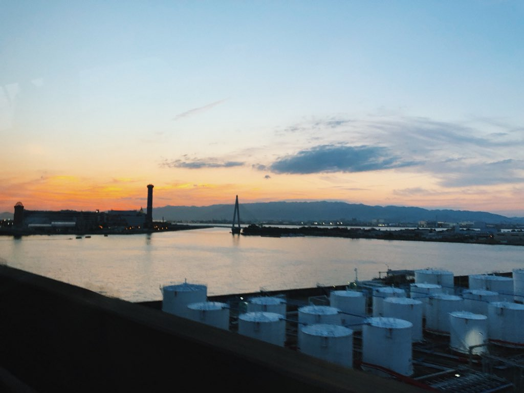 Osaka, you're beautiful. Really gonna miss Japan. Hope to be back soon! See you soon South Korea  <br>http://pic.twitter.com/tU0qYU4fNr