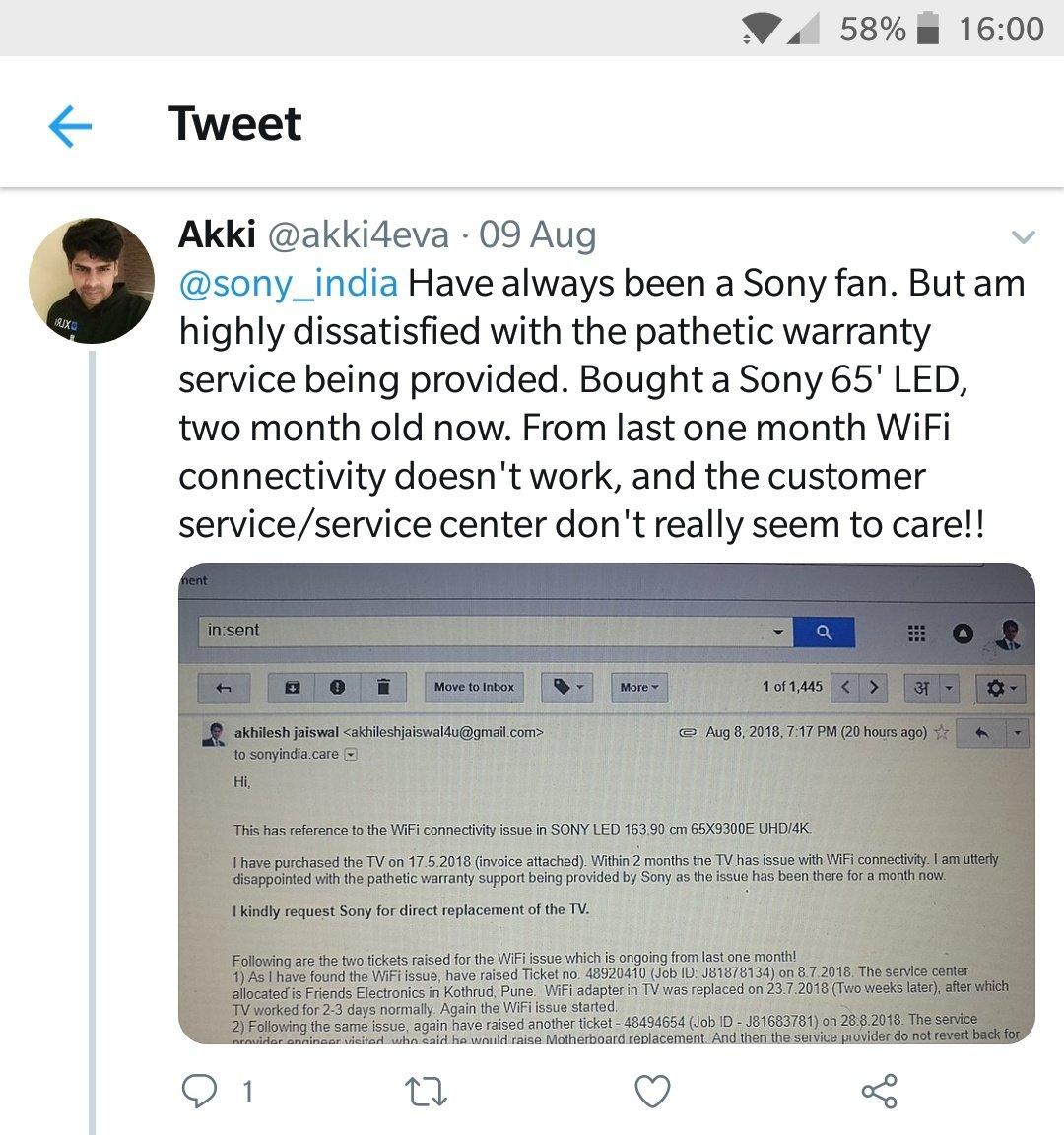 Sony India on Twitter: