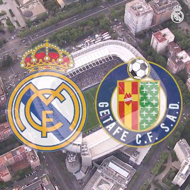 �� ¡DÍA DE PARTIDO! �� @GetafeCF �� Santiago Bernabéu ⏰ 22:15 CEST �� LaLiga #⃣ #RMLiga https://t.co/fli0uyeOGu