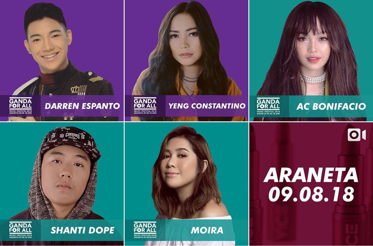 Catch world class performers in Ganda for all Music Festival happening this Sep 8 at Araneta Colliseum!  @Espanto2001<br>http://pic.twitter.com/VGGiuMIRz8
