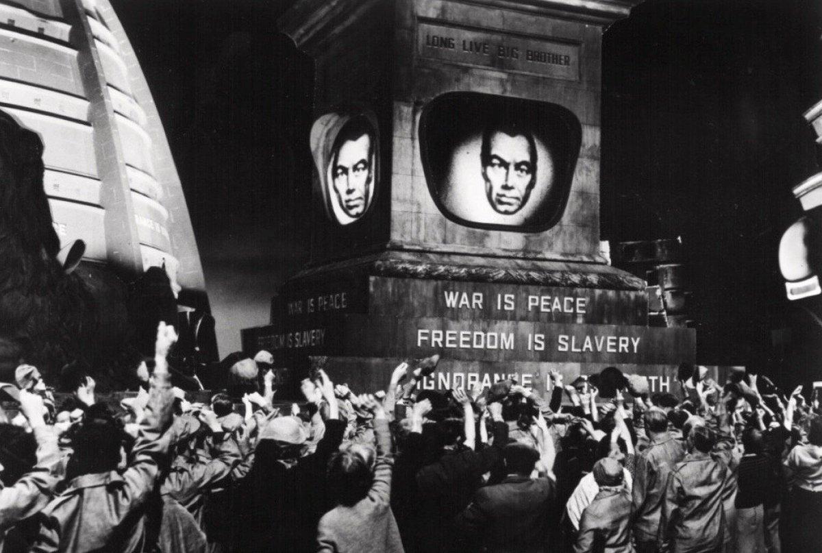 "Orwell's ""1984' onscreen:"