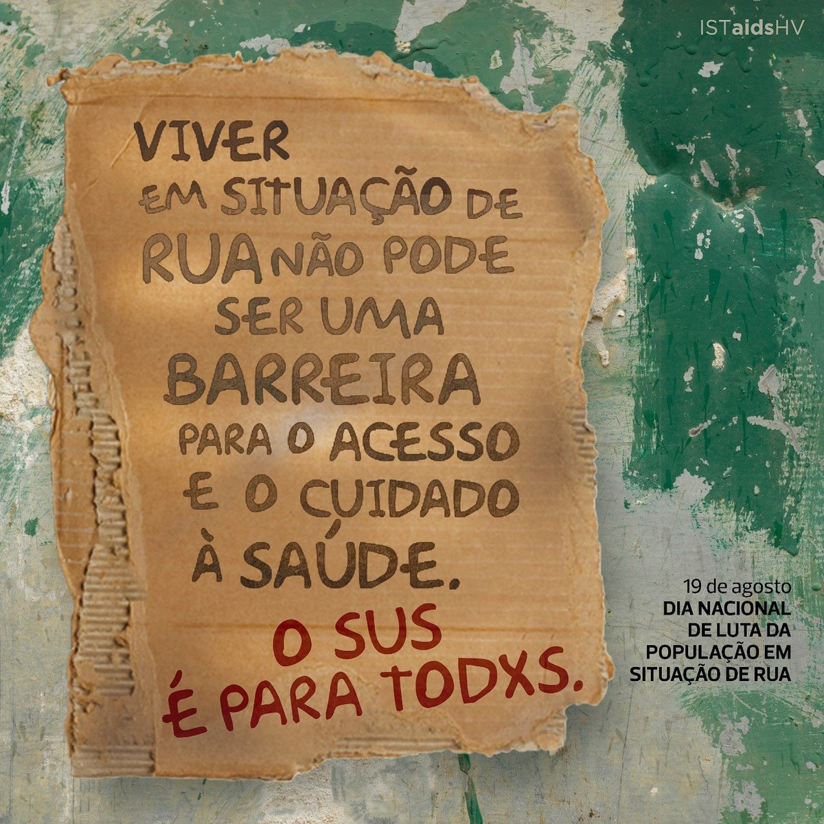 ... Das IST E Das Hepatites Virais é Um Direto. O #SUS é Para Todxs. Saiba  Mais Em Http://bit.ly/2nNeuFI #ConsultórionaRua #PopulaçãodeRua ...