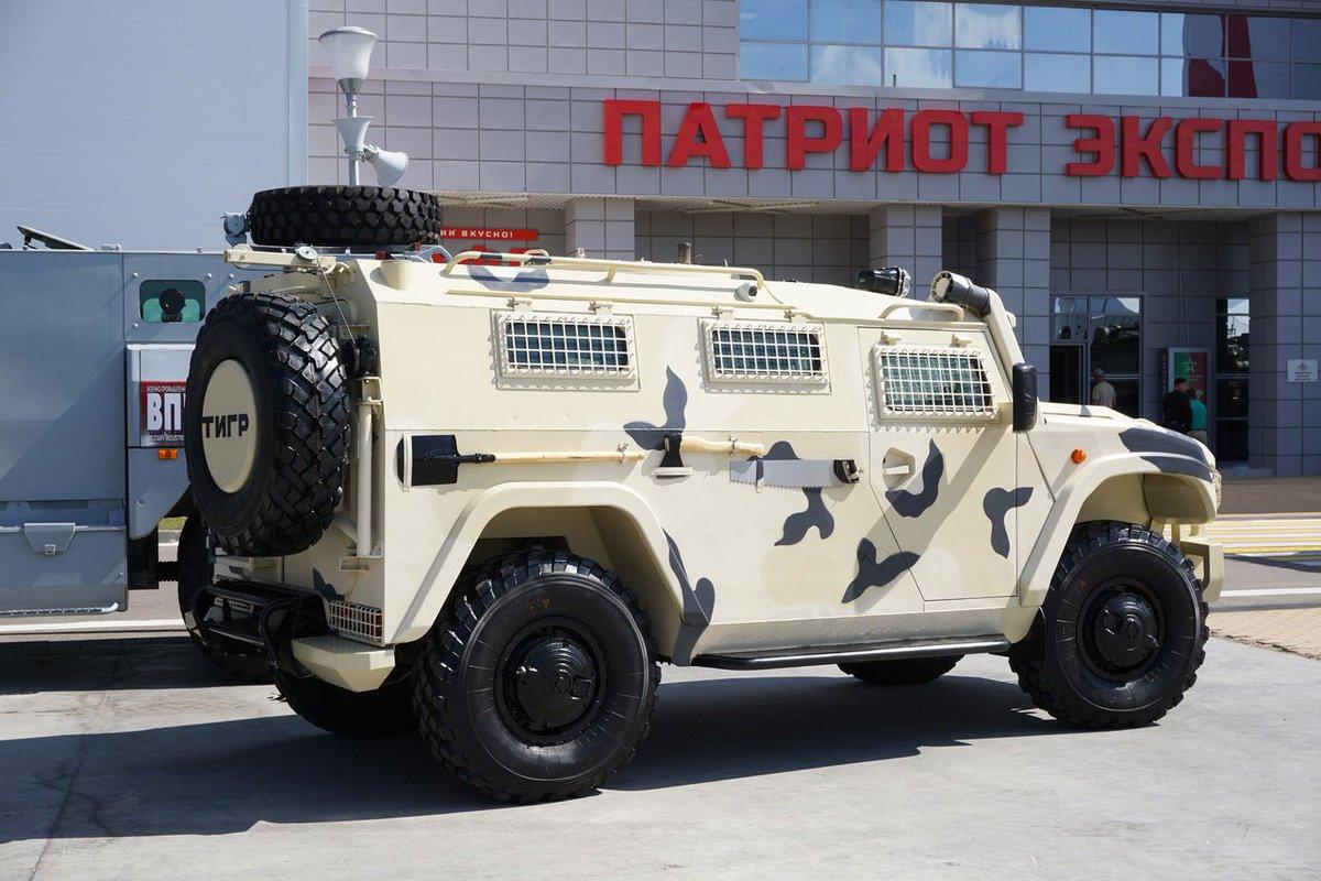 روسيا ستطور نسخه جديده من عربات Tigr قادره على الصمود امام الغام توازي 2 كغم TNT  Dk9cQIuX4AUv0b0