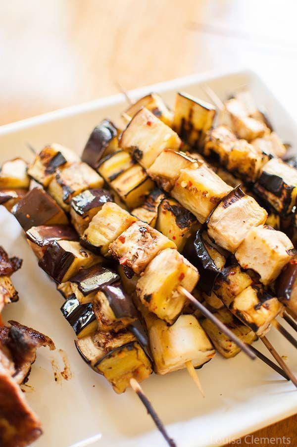 @Living_Lou: Make these TASTY eggplant skewers >>https://t.co/m9SXTmnsnh  #eggplant #recipe #vegetarian https://t.co/vftfYManOG