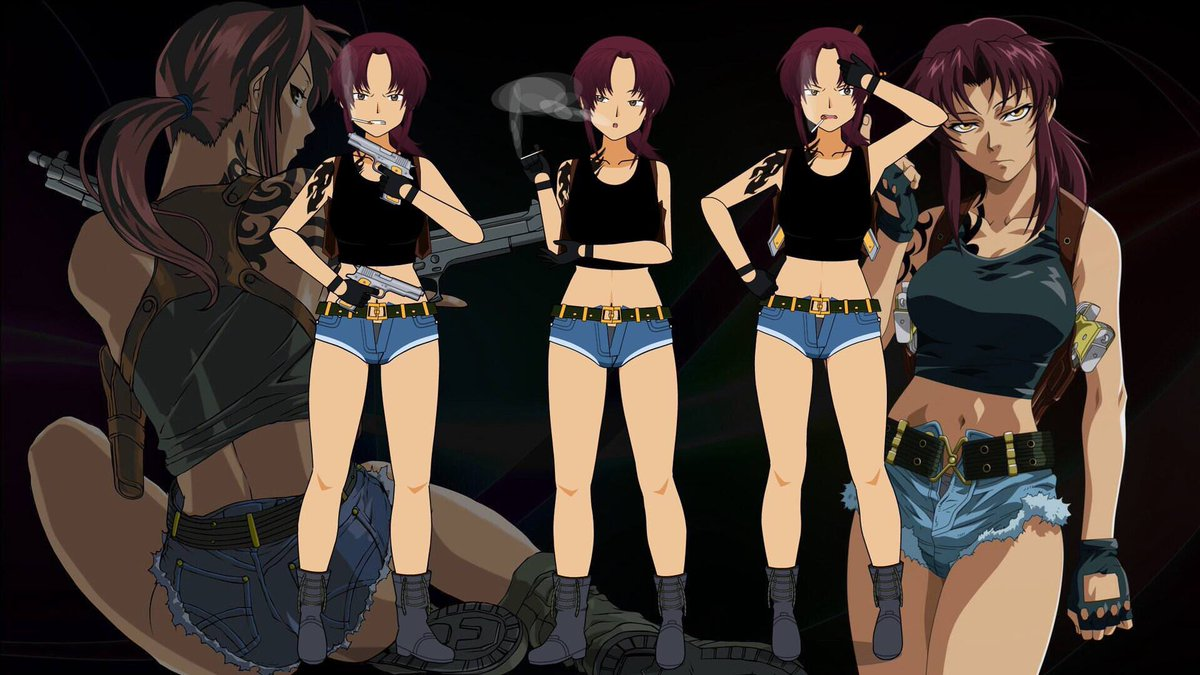 Revy now has several targeted lines directed towards every single character  in the game! (There are only a few characters like that) Try her out at ...