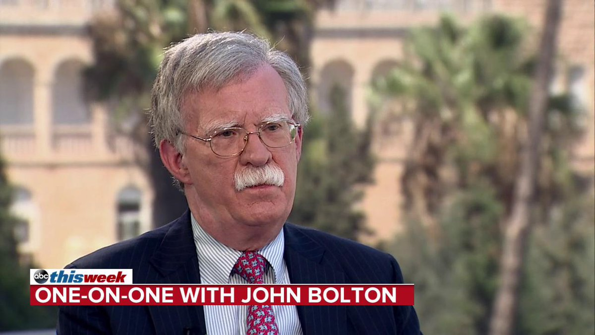 John Bolton says in addition to Russia, there's sufficient national security concern over China, Iran, and North Korea meddling. Those are the four countries we're most concerned about for the 2018 elections.