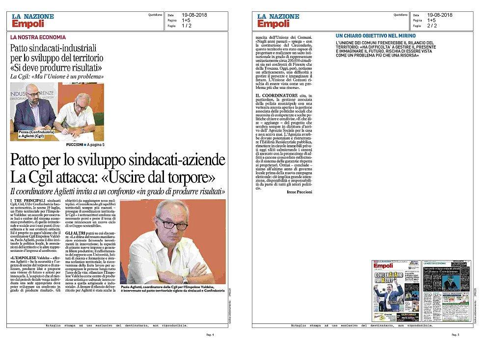 #Empoli #confindustria #Cgil #19agosto La rassegna stampa del 19 agosto 2018 https://issuu.com/cgil.toscana/docs/firenzers20180819  - Ukustom