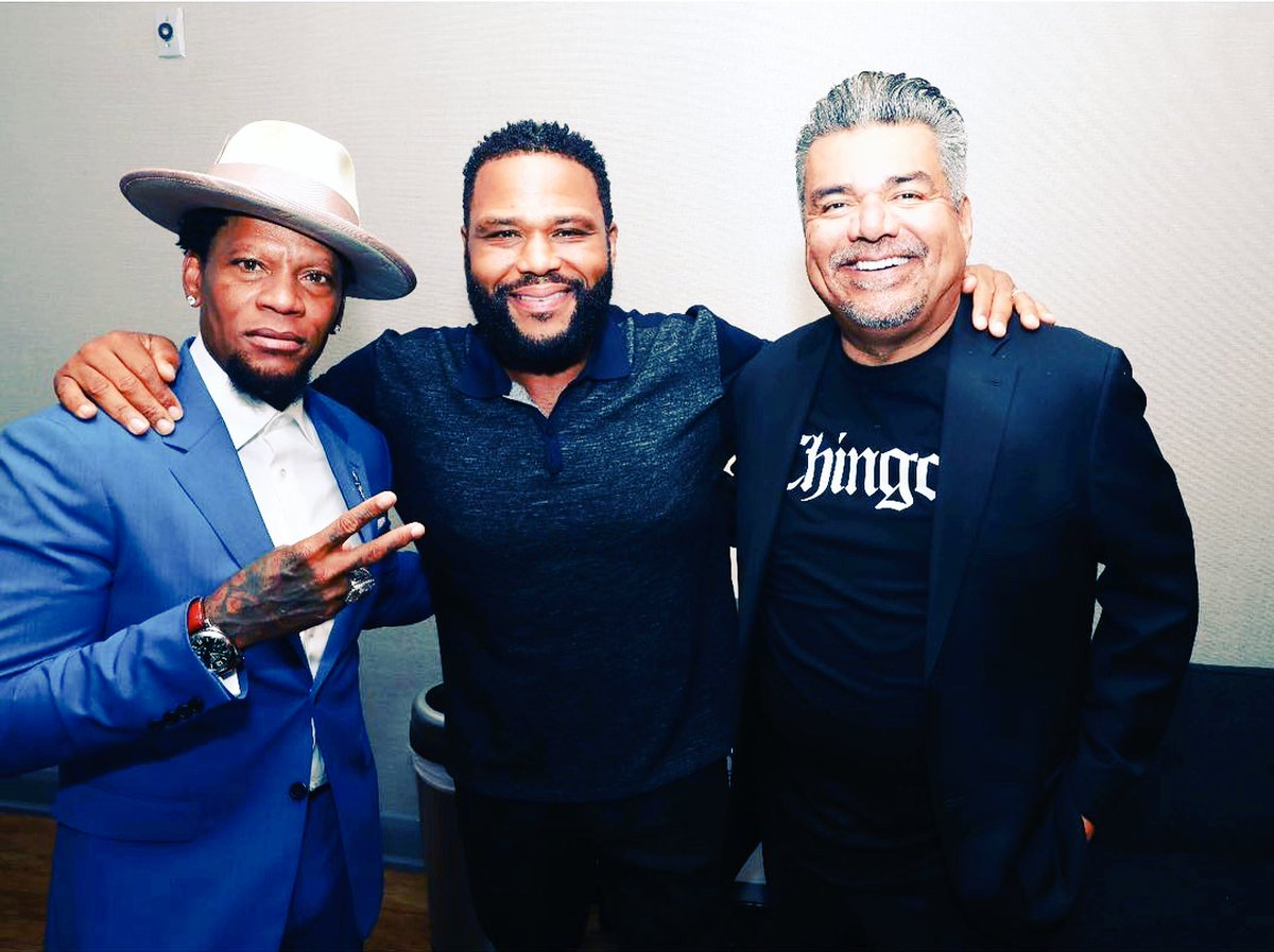 The homies. @anthonyanderson @georgelopez #CGD   Photo @ShannonMcCollum<br>http://pic.twitter.com/oIng2x572F