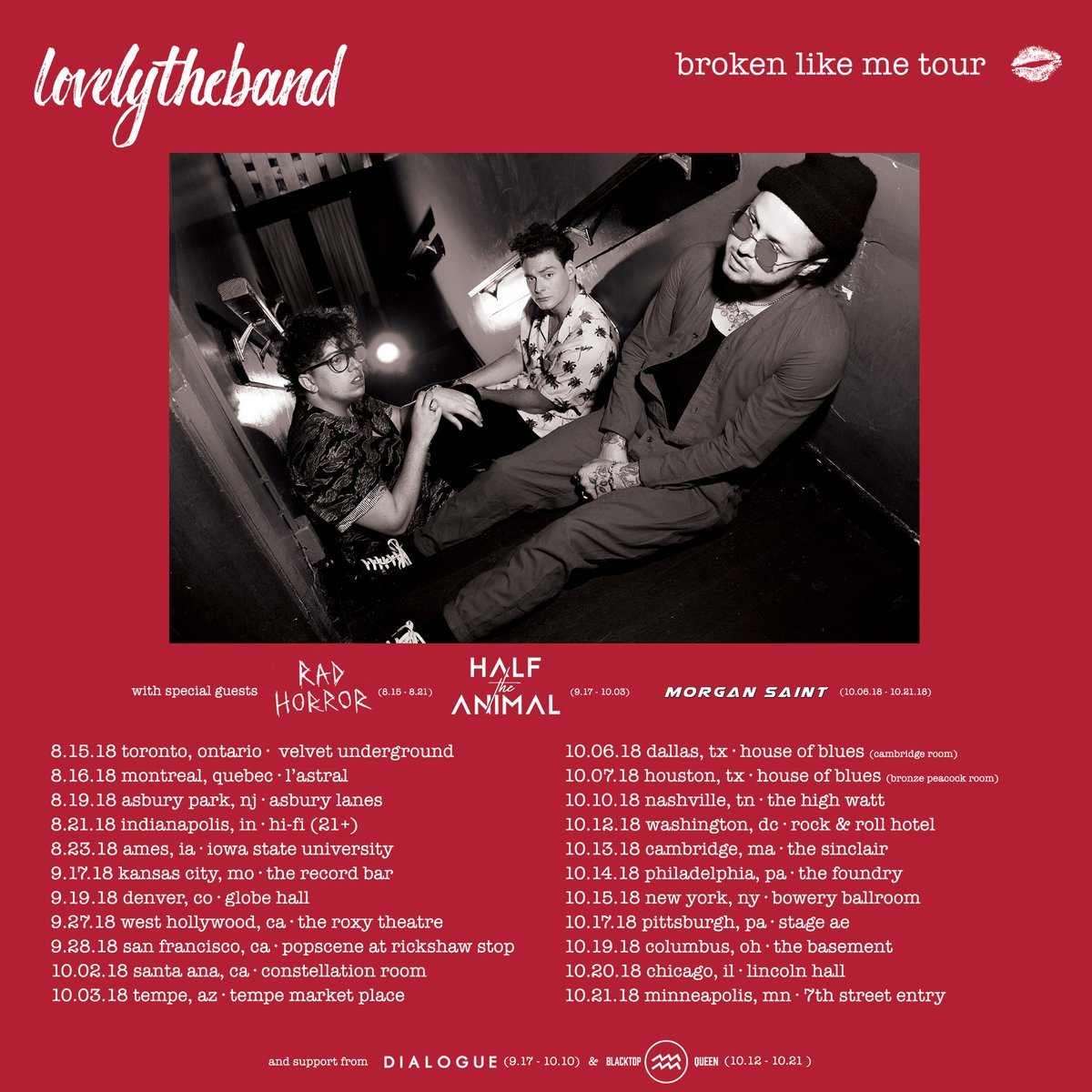Lovelytheband On Twitter New Dates Added Tickets Vip On Sale
