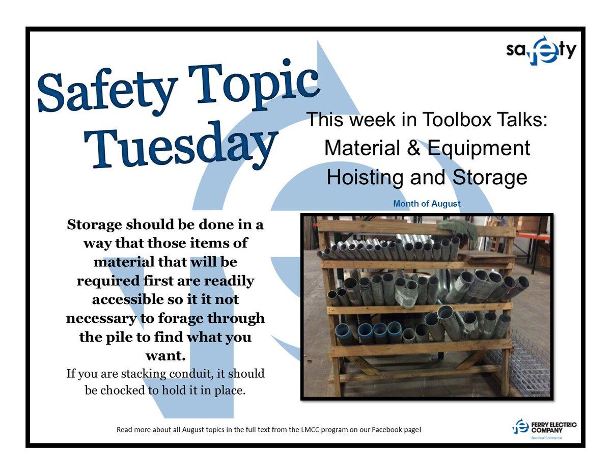 Toolbox Topics 2018
