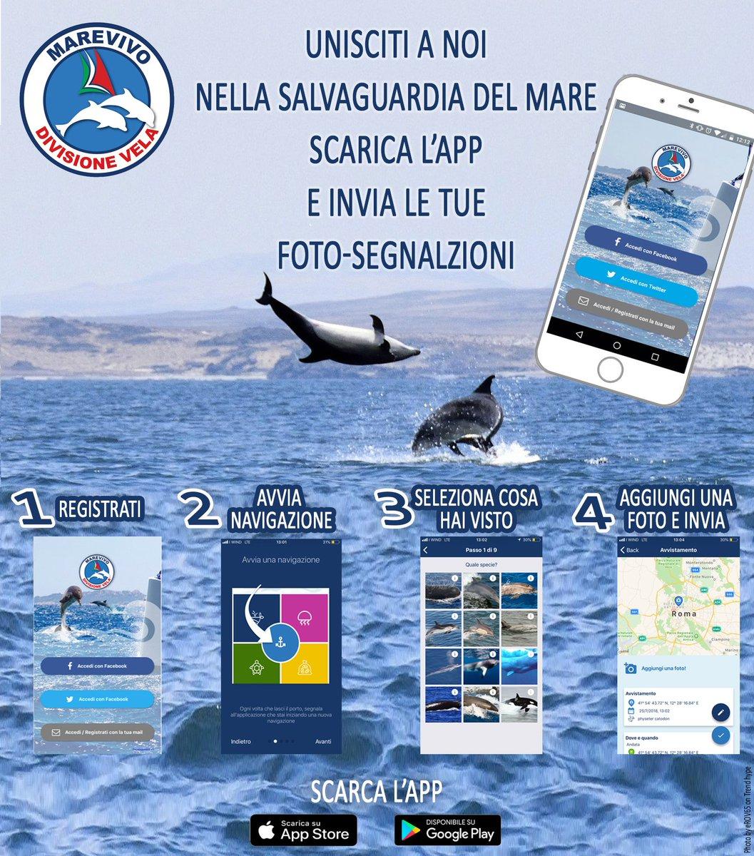 Stai navigando in #mare? Scarica l\