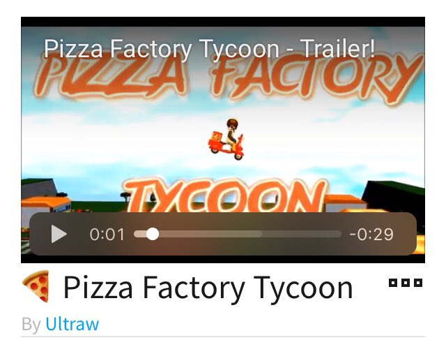 Ultraw On Twitter Pizza Factory Tycoon Now Has 100m Visits