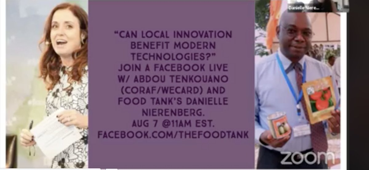 food tank on twitter live now on facebook africa needs a new