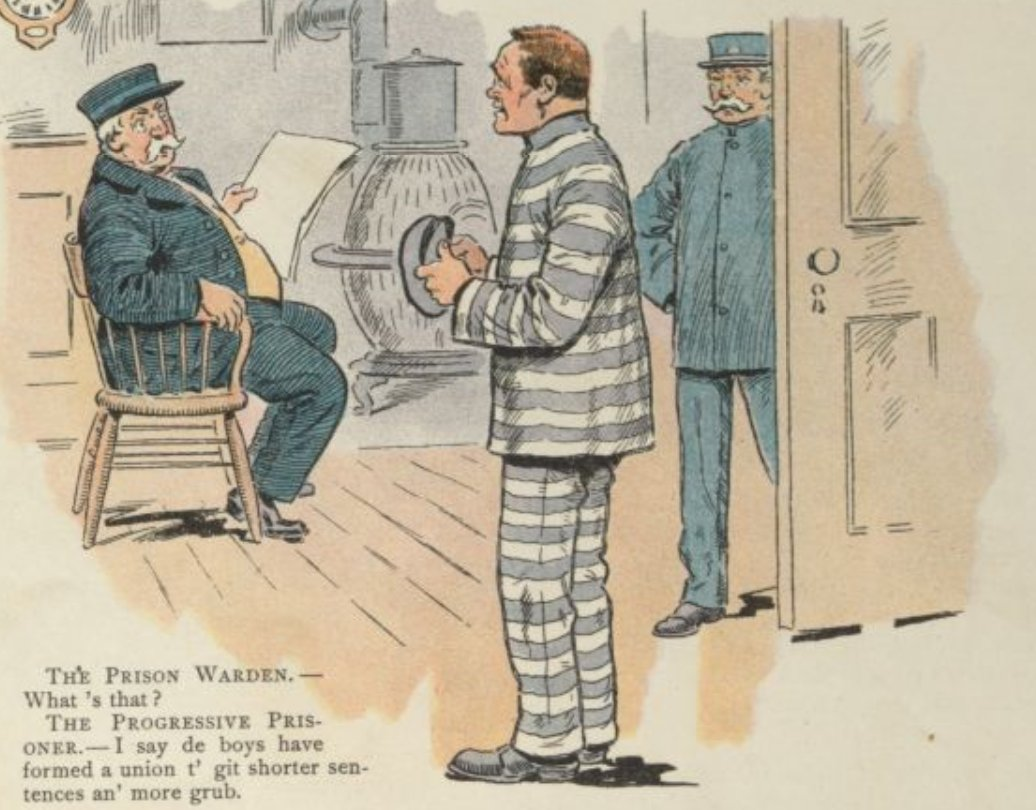 these 1903 anti-union cartoons are full of unintentionally good ideas
