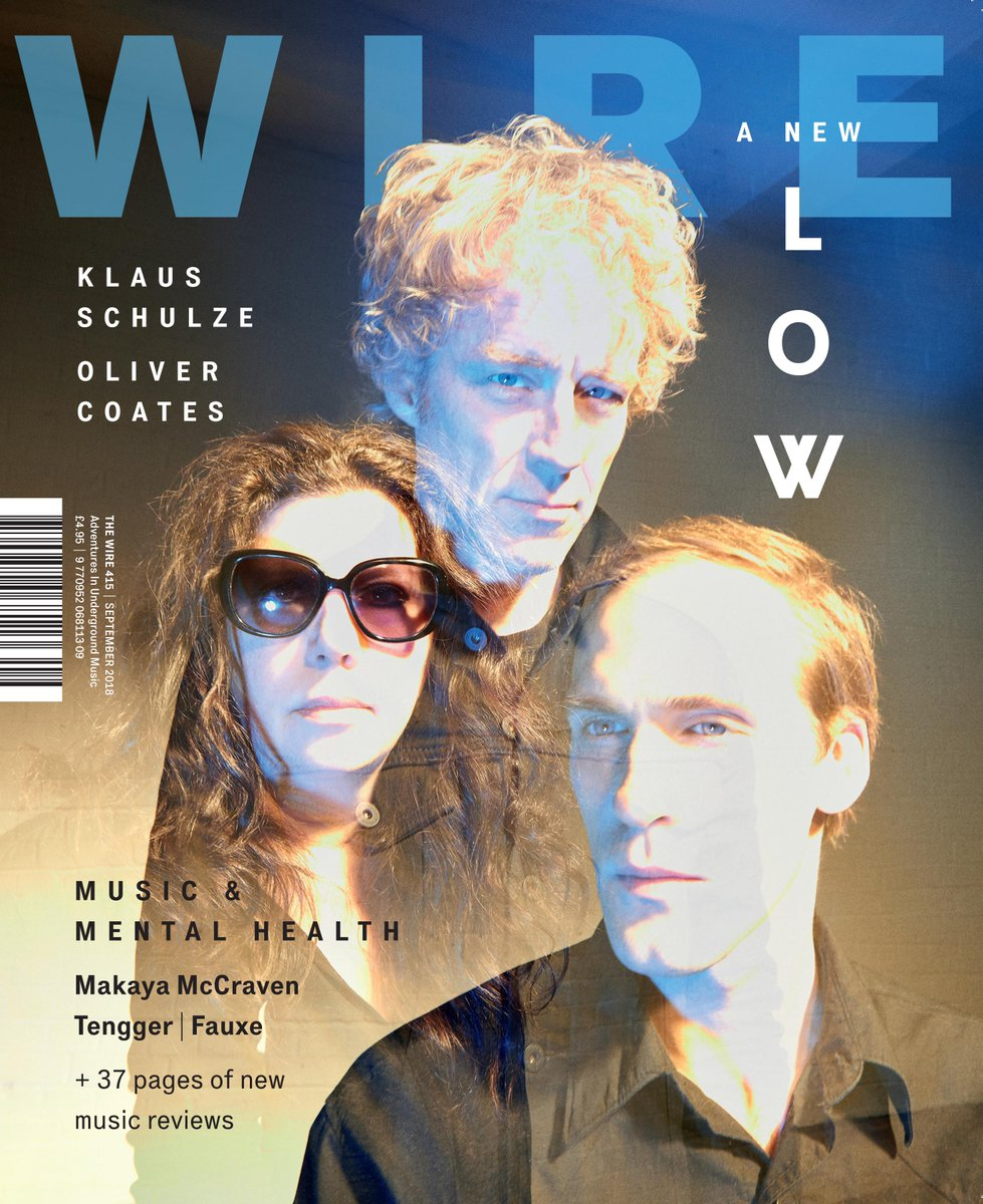 The September issue of The Wire is out now. On the cover is @lowtheband. Inside: Music And Mental Health, @klausschulze, Fauxe, Tengger, Makaya McCraven, @ollycoates, @the_tapeworm &amp; much more  https://www. thewire.co.uk/issues/415  &nbsp;  <br>http://pic.twitter.com/ekZLJUJ3hn