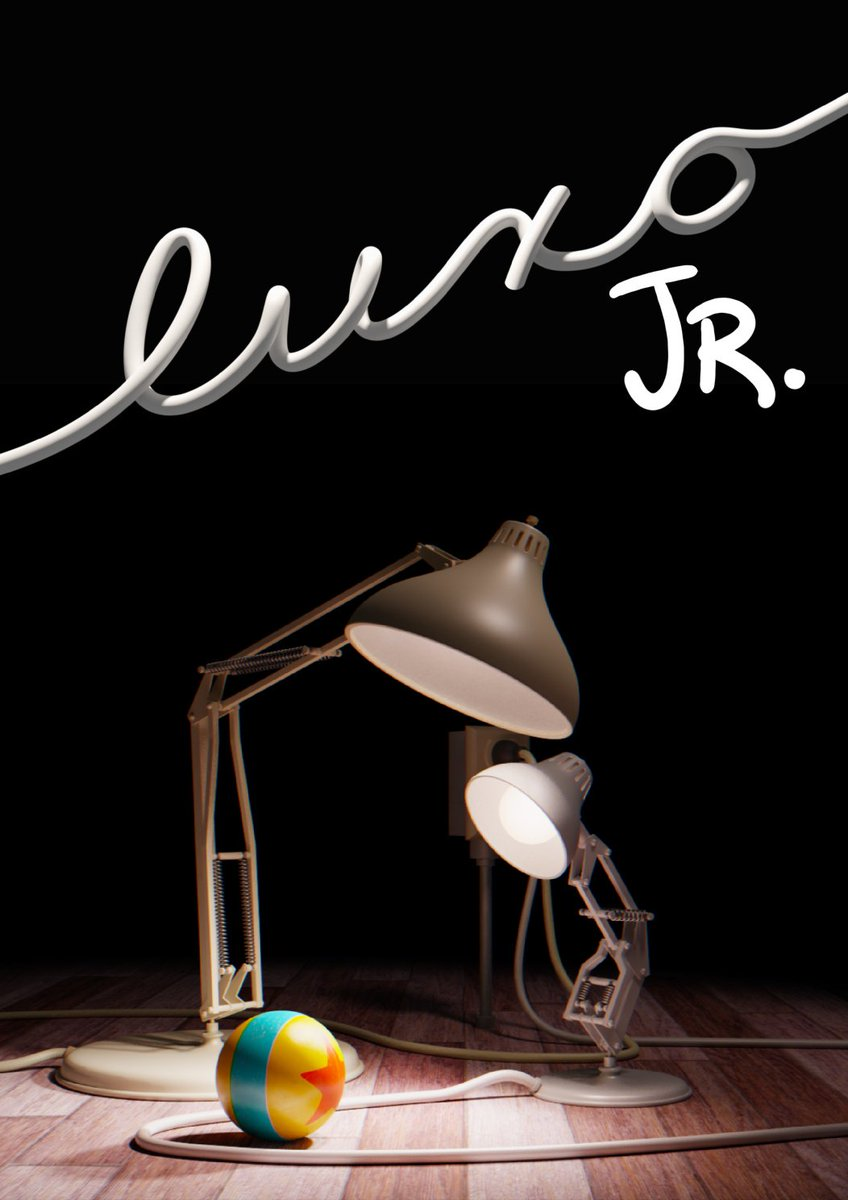 "In 1986, ""Luxo Jr."" became John Lasseter's official directorial debut with Pixar.  ""Luxo Jr."" would go on to become the first three-dimensional computer animated film to be nominated for an Oscar, receiving a nomination for Best Short Film (Animated). <br>http://pic.twitter.com/9KGoyj9QQK"