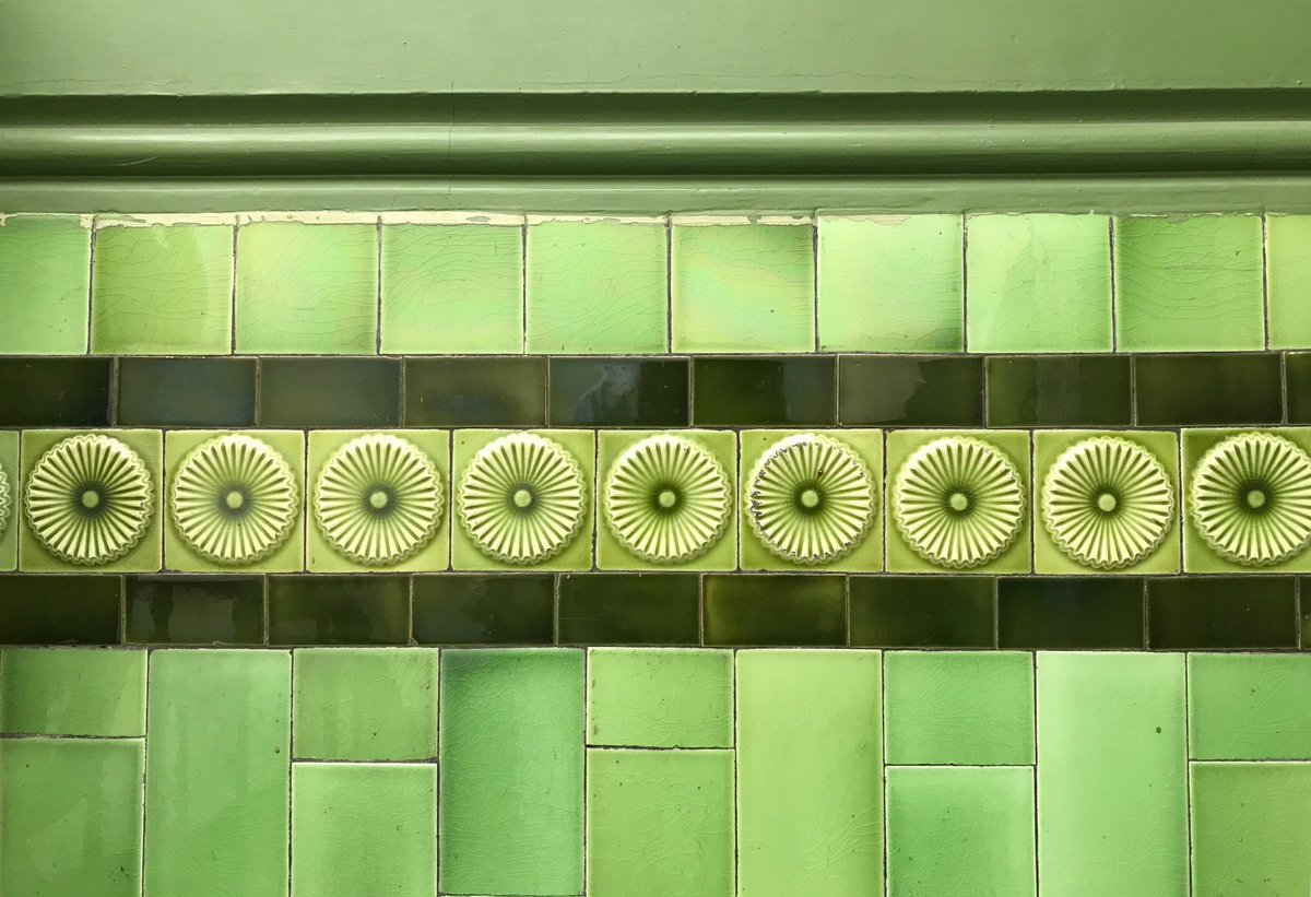 Ellie Tennant On Twitter Admiring These Emerald Green Edwardian - Tiles-for-the-hallway