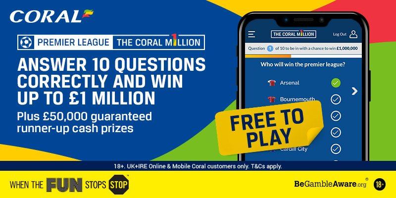 coral million betting tips